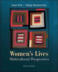 Women's Lives 6th Edition 9780073512341 0073512346
