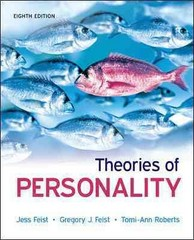 Theories of Personality 8th edition 9780073532196 0073532193