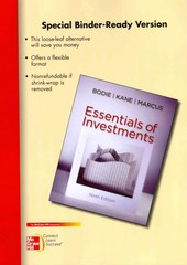 Loose-Leaf Essentials of Investments 9th edition 9780077502294 0077502299