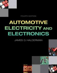 Automotive Electricity and Electronics 4th Edition 9780133027747 0133027740