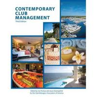 Contemporary Club Management with Answer Sheet (AHLEI) 3rd Edition 9780133255126 0133255123