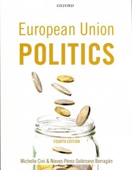 European Union Politics 4th Edition 9780199694754 0199694753