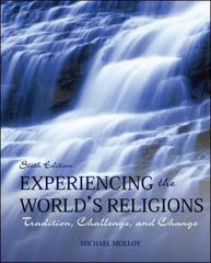 Experiencing the World's Religions Loose Leaf 6th Edition 9780078038273 0078038278