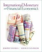 International Monetary & Financial  Economics 1st Edition 9780132461863 0132461862