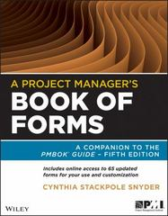 A Project Manager's Book of Forms 2nd Edition 9781118430781 1118430786