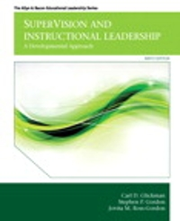 SuperVision and Instructional Leadership 9th Edition 9780133121919 0133121917