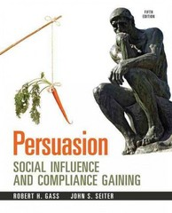 Persuasion 5th Edition 9780205912964 0205912966
