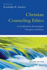 Christian Counseling Ethics 2nd Edition 9780830839940 0830839941