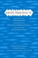 Greek Tragedies 3 3rd Edition 9780226035932 022603593X