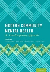 Modern Community Mental Health 1st Edition 9780199798063 0199798060