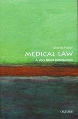 Medical Law: A Very Short Introduction 1st Edition 9780199660445 0199660441