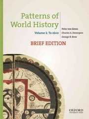 Patterns of World History 1st Edition 9780199943753 0199943753
