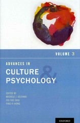Advances in Culture and Psychology 1st edition 9780199930449 0199930449