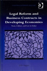 Legal Reform and Business Contracts in Developing Economies 1st Edition 9781317106098 1317106091