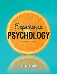 Experience Psychology 2nd Edition 9780078035340 0078035341
