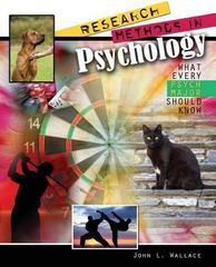 Research Methods in Psychology 1st Edition 9781465205438 1465205438