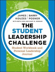 The Student Leadership Challenge 3rd Edition 9781118390092 1118390091