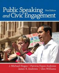 Public Speaking and Civic Engagement 3rd edition 9780205252886 0205252885