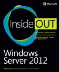 Windows Server 2012 Inside Out 1st Edition 9780735666313 0735666318