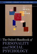 The Oxford Handbook of Personality and Social Psychology 0 9780199939497 0199939497