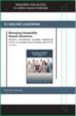 Managing Hospitality Human Resources Online Component (AHLEI) -- Access Card 5th edition 9780133365351 0133365352