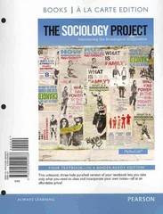 The Sociology Project 1st edition 9780205094288 0205094287