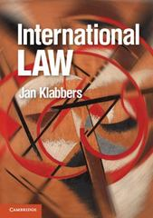 International Law 1st Edition 9780521144063 052114406X