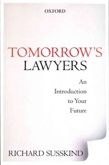 Tomorrow's Lawyers: An Introduction to Your Future 1st Edition 9780191645068 0191645060