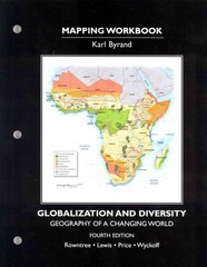 Student's Mapping Workbook for Globalization and Diversity 4th Edition 9780321862204 0321862201
