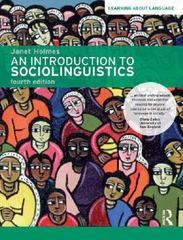 An Introduction to Sociolinguistics 4th Edition 9781317860723 1317860721
