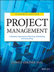 Project Management 11th Edition 9781118418550 1118418557
