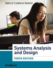 Systems Analysis and Design 10th Edition 9781285633190 1285633199