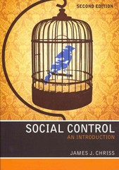 Social Control 2nd Edition 9780745654393 0745654398
