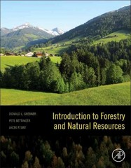 Introduction to Forestry and Natural Resources 1st Edition 9780123869012 0123869013