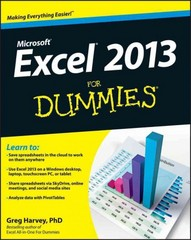 Excel 2013 For Dummies 1st Edition 9781118510124 1118510127