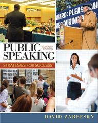 Public Speaking 7th edition 9780205857265 0205857264
