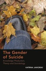 The Gender of Suicide 1st Edition 9781317030829 1317030826