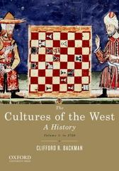 The Cultures of the West 1st Edition 9780195388909 0195388909