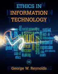 Ethics in Information Technology 5th Edition 9781285197159 1285197151