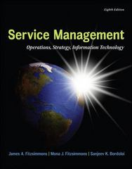 Service Management: Operations, Strategy, Information Technology ...
