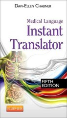 Medical Language Instant Translator 5th Edition 9781455758319 1455758310