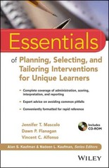 Essentials of Planning, Selecting, and Tailoring Interventions for Unique Learners 1st Edition 9781118368213 1118368215