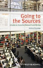 Going to the Sources 5th Edition 9781118515310 1118515315
