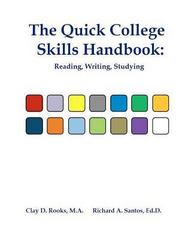 The Quick College Skills Handbook 1st Edition 9781479266517 1479266515