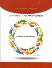 Generalist Case Management Workbook 4th Edition 9781285964072 1285964071