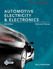 Today's Technician: Automotive Electricity and Electronics Classroom and Shop Manual Pack 6th Edition 9781285425719 1285425715