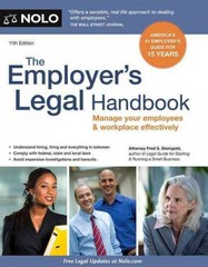 The Employer's Legal Handbook 11th Edition 9781413318883 1413318886