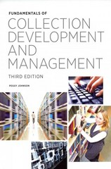 Fundamentals of Collection Development and Management 3rd Edition 9780838911914 0838911919