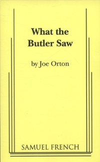 What the Butler Saw 1st Edition 9780573617775 0573617775