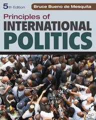 Principles of International Politics 5th Edition 9781452202983 1452202982